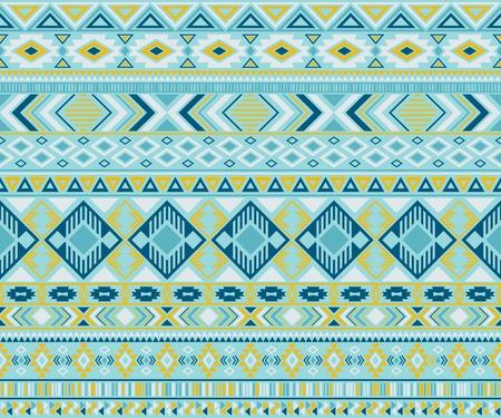 Navajo american indian pattern tribal ethnic motifs geometric seamless background. Bohemian native american tribal motifs textile print ethnic traditional design. Peruvian folk fashion. Reklamní fotografie - 117224589