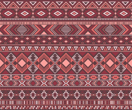Navajo american indian pattern tribal ethnic motifs geometric seamless background. Bohemian native american tribal motifs clothing fabric ethnic traditional design. Navajo symbols clothes print.