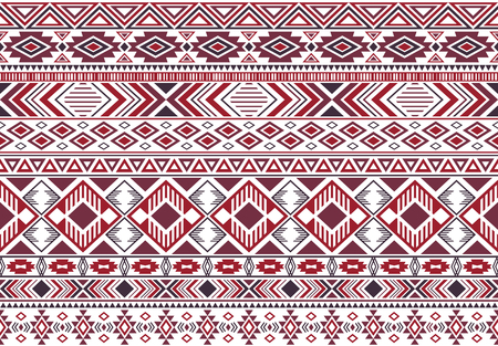 Sacral tribal ethnic motifs geometric seamless background. Beautiful geometric shapes sprites tribal motifs clothing fabric textile print traditional design with triangles