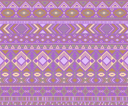 Peruvian american indian pattern tribal ethnic motifs geometric vector background. Cute native american tribal motifs clothing fabric ethnic traditional design. Peruvian folk fashion. Reklamní fotografie - 117924327