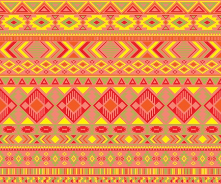 Navajo american indian pattern tribal ethnic motifs geometric seamless background. Impressive native american tribal motifs textile print ethnic traditional design. Navajo symbols clothes pattern.