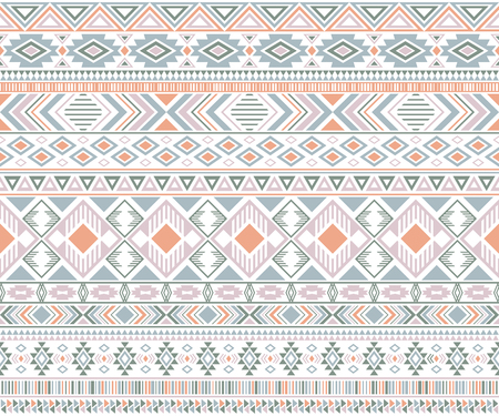 Rhombus and triangle symbols tribal ethnic motifs geometric seamless background. Beautiful geometric shapes sprites tribal motifs clothing fabric textile print traditional design with triangles