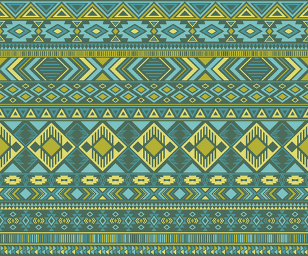 Navajo american indian pattern tribal ethnic motifs geometric vector background. Chic native american tribal motifs clothing fabric ethnic traditional design. Navajo symbols textile pattern.