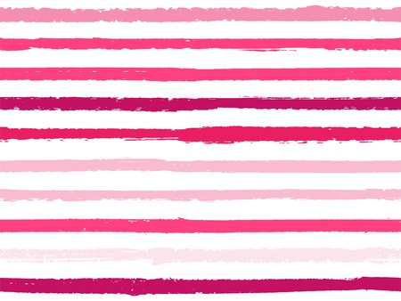 Hand drawn striped seamless pattern vintage background for textile. Paint stripes lines watercolor vector. Modern fashion texture linen fabric background. Cool seamless striped pattern. Foto de archivo - 123088850