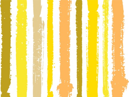 Vertical stripes of thick and thin paint or ink lines seamless vector pattern on white. Brush stroke stripes vertical pattern for clothes textile fabric. Grunge striped cool watercolor line art. Foto de archivo - 123088854