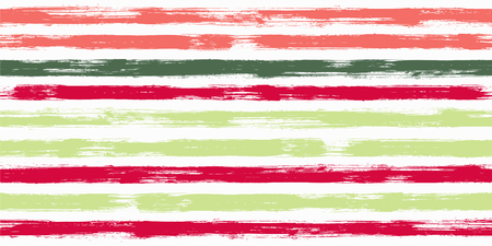 Vibrant watercolor brush stripes seamless pattern. and paintbrush lines horizontal seamless texture for backdrop. Hand drown paint strokes decoration artwork. For print.