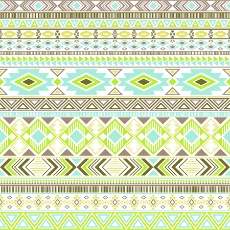 Mayan american indian pattern tribal ethnic motifs geometric vector background. Modern native american tribal motifs textile print ethnic traditional design. Aztec symbol fabric print.