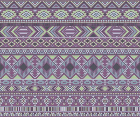 Navajo american indian pattern tribal ethnic motifs geometric vector background. Graphic native american tribal motifs clothing fabric ethnic traditional design. Navajo symbols fabric pattern.