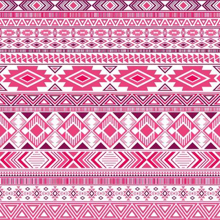 Mexican american indian pattern tribal ethnic motifs geometric seamless background. Cute native american tribal motifs clothing fabric ethnic traditional design. Aztec symbol fabric print.