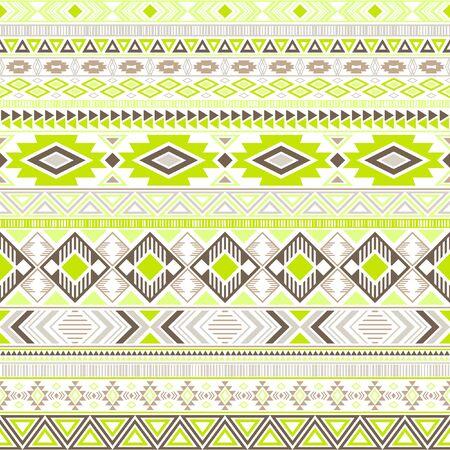 Mexican american indian pattern tribal ethnic motifs geometric seamless background. Rich native american tribal motifs textile print ethnic traditional design. Mexican folk fashion.