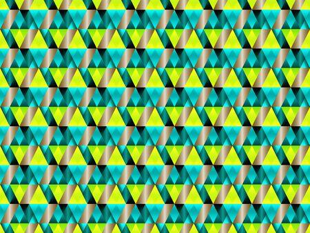 Poly art grid geometric seamless vector background. Hypnotic polygons triangles and rhombus geometric design. Kaleidoscope style polygonal seamless background. Bauhaus pattern design. 일러스트