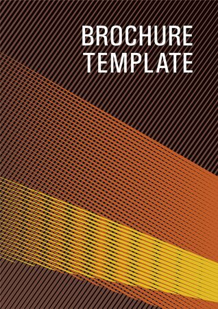 Halftone lines texture vector print background. Dynamic technological wallpaper. Advanced brand cover template. Futuristic journal mockup. Triangle element layers modern pattern.