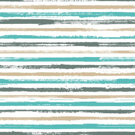 Grunge stripes seamless vector background pattern. Wrapping paper lines pattern. Dry paintbrush stripes grunge backdrop print design. Dry ink art lines background. Punk millennial graphics.