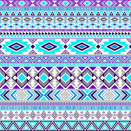 Mayan american indian pattern tribal ethnic motifs geometric vector background. Graphic native american tribal motifs textile print ethnic traditional design. Mayan clothes pattern design.