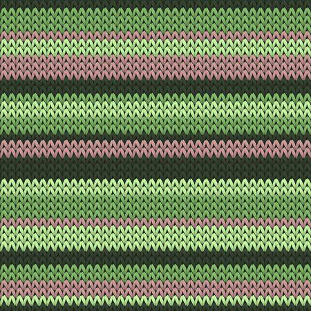 Stylish horizontal stripes christmas knit geometric seamless pattern. Jumper knit tricot  fabric print. Scandinavian style seamless knitted pattern. Abstract xmas wallpaper.