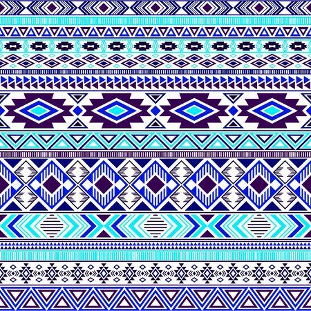 Mayan american indian pattern tribal ethnic motifs geometric vector background. Graphic native american tribal motifs textile print ethnic traditional design. Aztec symbol fabric print.