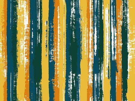 Aquarell Streifen nahtlose Vektor Hintergrund. Mehrfarbiges ethnisches Mustermusterdesign. Hintergrund im alten Stil für Poster, Banner, Karten. Gestreifter Tischdecken-Textildruck.
