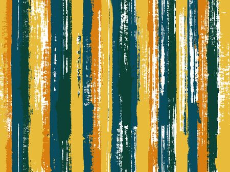 Aquarelle bandes fond vectorielle continue. Conception d'échantillons ethniques multicolores. Fond de style ancien pour affiche, bannière, carte. Nappe à rayures imprimée textile.