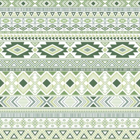 Mexican american indian pattern tribal ethnic motifs geometric seamless background. Eclectic native american tribal motifs clothing fabric ethnic traditional design. Mexican folk fashion.