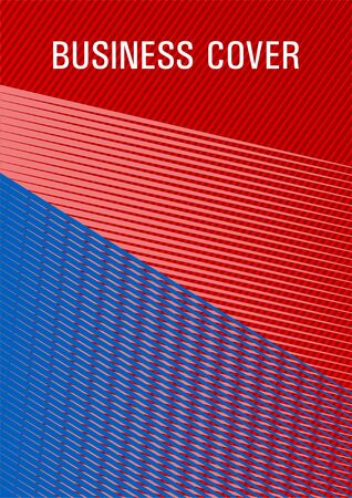 Brochure cover page layout halftone vector design. Dynamic technological wallpaper. Sale catalog vivid mockup. Banner backdrop simple print idea. Cover template with logo place. Ilustração