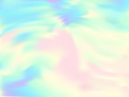 Hologram effect glitch gradient vector design. Hipster pastel rainbow unicorn background. Liquid colors neon background. Elegant neon glitch effect hologram gradient wallpaper.