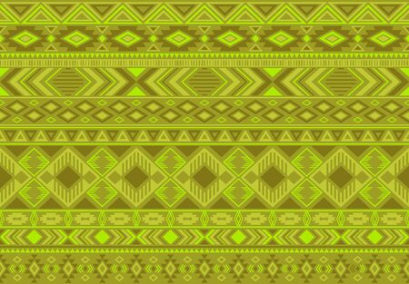 Indonesian pattern tribal ethnic motifs geometric seamless vector background. Abstract indonesian tribal motifs clothing fabric textile print traditional design with triangle and rhombus shapes.