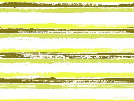 Hand drawn paint stripes fabric print seamless vector. Hipster cool ornament. Hand painted stripes vintage fabric print design. Wrapping paper lines pattern. Color lines on white background. Vektorové ilustrace