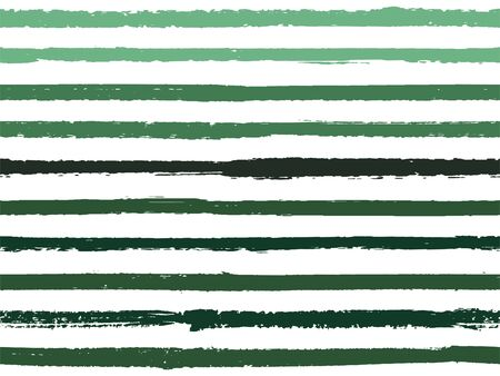 Hand drawn striped seamless pattern vintage background for wrapping. Painted stripes lines watercolor vector. Modern fashion texture linen textile background. Cool seamless striped pattern.