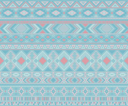 Navajo american indian pattern tribal ethnic motifs geometric seamless background. Modern native american tribal motifs clothing fabric ethnic traditional design. Navajo symbols clothes print.