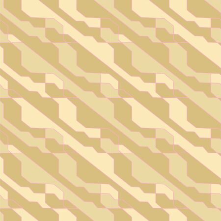 Abstract geometric pattern with crossing thin lines. Vector seamless lattice background. Polygonal structure. Repeating geometric grid art deco design background. Textile print. Çizim