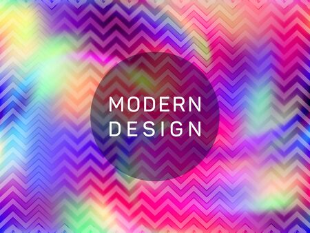 Psychedelic presentation holographic gradient vector template. Fluid shimmer overlay elements. Colorful gradient holographic background for presentation. 일러스트