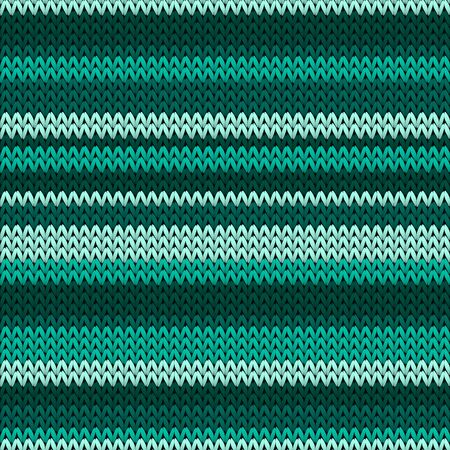 Stylish horizontal stripes knit texture geometric seamless pattern. Scarf knit effect ornament. Norwegian style seamless knitted pattern. Winter holidays wallpaper. 矢量图像