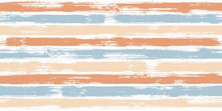 Hipster watercolor brush stripes seamless pattern. and paintbrush lines horizontal seamless texture for background. Hand drown paint strokes graffiti artwork. For garment.