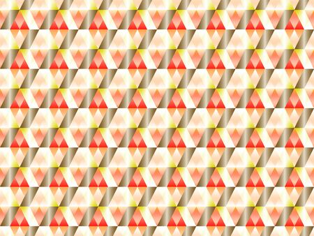 Poly art grid geometric seamless vector background. Hypnotic polygon triangles geometric bauhaus design. Chic seamless pattern with gold poly gradient elements. Cool pattern design.