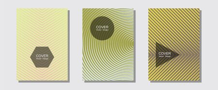 Abstract shapes of multiple lines halftone patterns. Futuristic style. Halftone lines music poster background. Educational notepads. Cool abstract shapes gradient texture backgrounds.