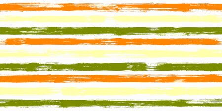 Retro watercolor brush stripes seamless pattern. and paintbrush lines horizontal seamless texture for background. Hand drown paint strokes graffiti artwork. For textile.