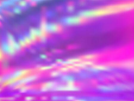 Neon holographic paper fluid gradient backdrop. Ombre rainbow spectrum background. Liquid colors explosion background. Refulgent blurred splash holographic vector wrapping paper. 일러스트