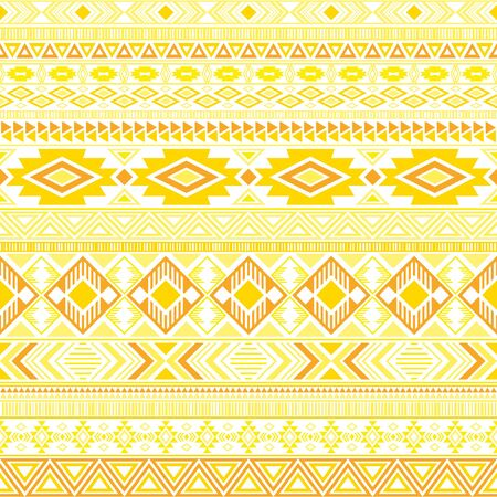 Mayan american indian pattern tribal ethnic motifs geometric vector background. Impressive native american tribal motifs clothing fabric ethnic traditional design. Mexican folk fashion.