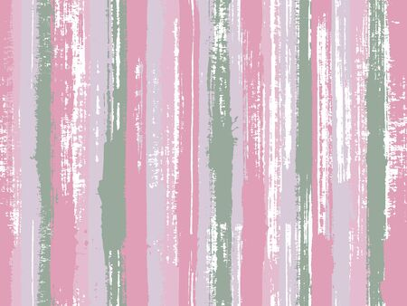 Watercolor strips seamless vector background. Striped tablecloth textile print. Stylish clothing fashion seamless fabric print. Ornament sample design for sailor suit. Иллюстрация