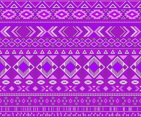 Navajo american indian pattern tribal ethnic motifs geometric vector background. Bohemian native american tribal motifs textile print ethnic traditional design. Navajo symbols clothes print.