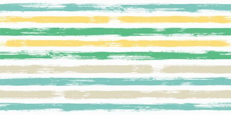 Trendy watercolor brush stripes seamless pattern. and paintbrush lines horizontal seamless texture for backdrop. Hand drown paint strokes decorative artwork. For illustration.