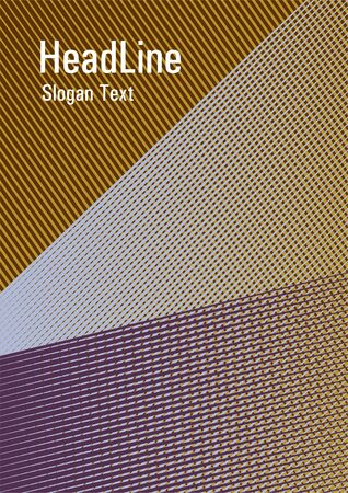 Halftone lines placard background graphic design. Advanced technological concept. Flyer mix digital background blend. Cool triangles composition. Future dynamic cover geometry.