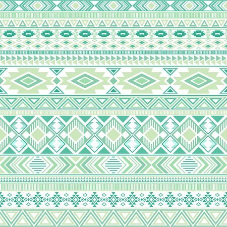 Aztec american indian pattern tribal ethnic motifs geometric vector background. Eclectic native american tribal motifs clothing fabric ethnic traditional design. Mayan clothes pattern design.