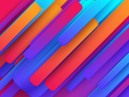 Minimal geometric background. Dynamic shapes motion composition. Eps10 vector. Creative geometric wallpaper. Trendy gradient shapes composition. Futuristic design.