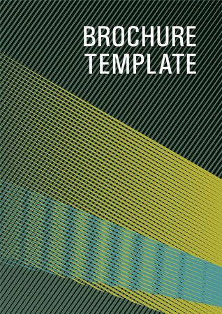 Linear geometry poster background vector template. Abstract business catalog concept. Triangle element layers modern pattern. Future dynamic cover geometry. Presentation elegant leaflet.