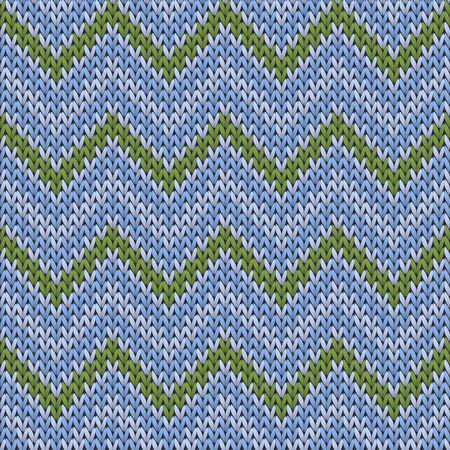Woolen chevron stripes knitting texture geometric seamless pattern. Ugly sweater knitting pattern imitation. Nordic style seamless knitted pattern. Abstract xmas wallpaper.