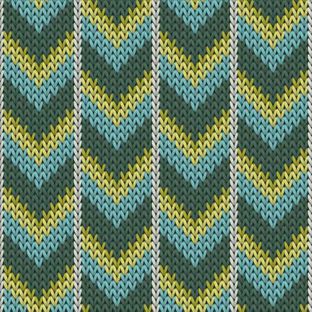 Fashionable downward arrow lines christmas knit geometric seamless. Blanket knitting pattern imitation. Scandinavian style seamless knitted pattern.