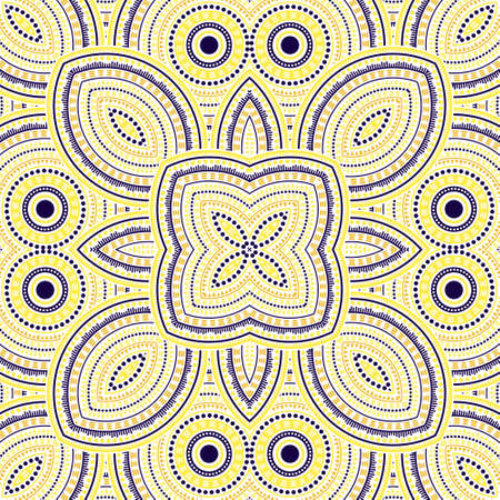 Simple portugese azulejo tile seamless ornament. Ethnic structure vector swatch. Quilt print design. Traditional lisbon azulejo tilework seamless pattern. Geometric shapes wallpaper.