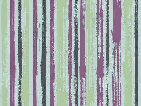 Watercolor strips seamless vector background. Striped tablecloth textile print. Stylish clothing fashion seamless fabric print. Grungy ink doodles simple endless texture.