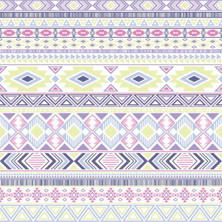 Mayan american indian pattern tribal ethnic motifs geometric seamless background. Rich native american tribal motifs textile print ethnic traditional design. Mexican folk fashion.